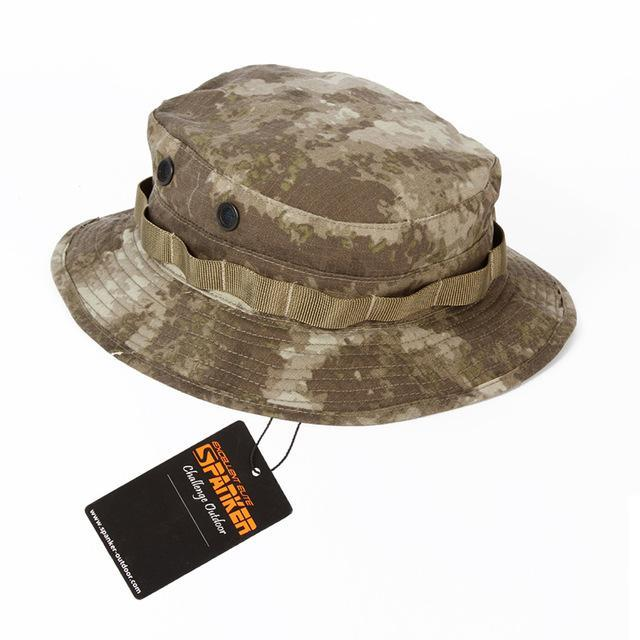Excellent Elite Spanker Military Bucket Hats Camo Mens Female Male Hat Wide Brim-Hats-Bargain Bait Box-ATU-Bargain Bait Box