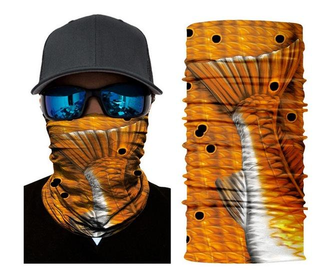 Face Shield Sun Mask Breathable Soft Neck Gaiter Balaclava Scarf Headwear Uv-Face Shields-Bargain Bait Box-Pattern 1-Bargain Bait Box