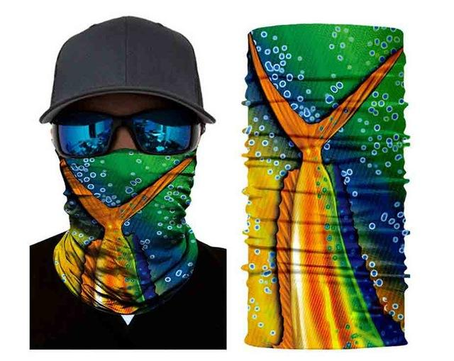 Face Shield Sun Mask Breathable Soft Neck Gaiter Balaclava Scarf Headwear Uv-Face Shields-Bargain Bait Box-Pattern 3-Bargain Bait Box