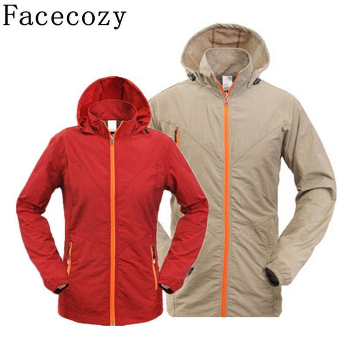 Facecozy Camping Jacket Men&Women Quick Dry Fishing&Hunting Clothes Breathable-Jackets-Bargain Bait Box-Women red-S-Bargain Bait Box