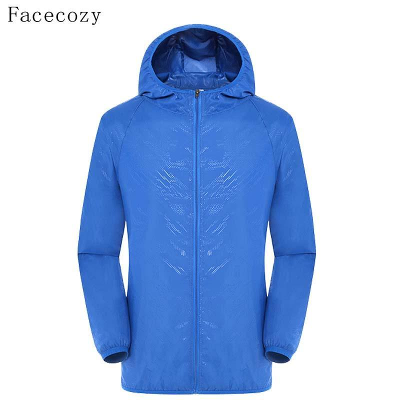Facecozy Loves Camping Jacket Women Solid Quick Dry Hooded Anti Uv Ultralight-Jackets-Bargain Bait Box-black-S-Bargain Bait Box