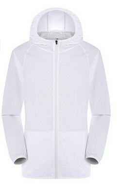 Facecozy Loves Camping Jacket Women Solid Quick Dry Hooded Anti Uv Ultralight-Jackets-Bargain Bait Box-white-S-Bargain Bait Box