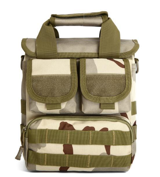 Facecozy Men Camping& Bag Single Shoulder Bags 600D Nylon Tactical Bags-Bags-Bargain Bait Box-Three sand camouflag-Other-Bargain Bait Box