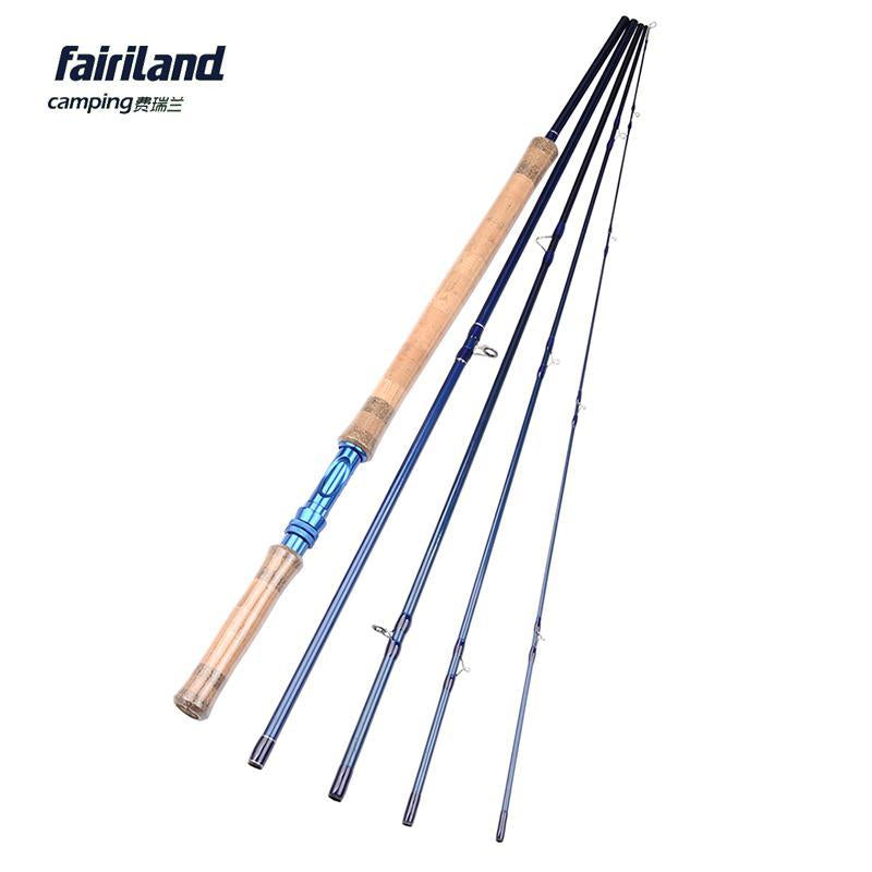 Fairiland 5 Sections 11.3Ft/3.43M 7/8# Fly Fishing Rod 206G/7.3Oz Im7 Carbon-Fly Fishing Rods-Bargain Bait Box-Bargain Bait Box