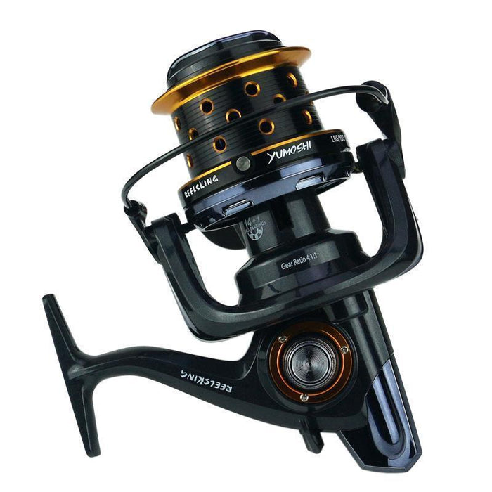 Far Distance Fishing Reel Big Size Large Reels Spinning Distant Wheel-Spinning Reels-Thanksgiving Family-8000 Series-Bargain Bait Box