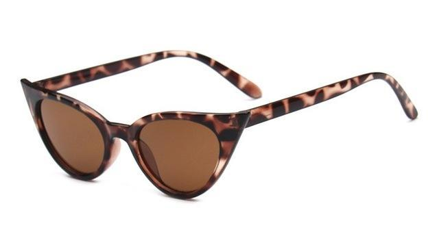 Fashion Cat Eye Sunglasses For Women Brand Designer Vintage-Sunglasses-Daily Lives Store-leopard small-Bargain Bait Box