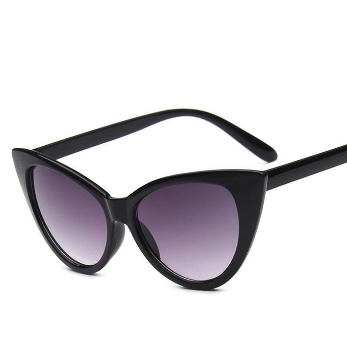Fashion Cat Eye Sunglasses For Women Brand Designer Vintage-Sunglasses-Daily Lives Store-white big-Bargain Bait Box
