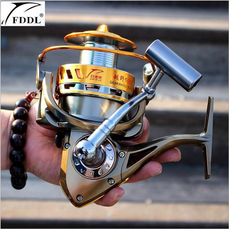 Fddl Brand 9000-8000 Full Metal Spool Jigging Trolling Long Shot Casting For-Spinning Reels-DAWO Trading Co., Ltd. Store-8000 Series-Bargain Bait Box