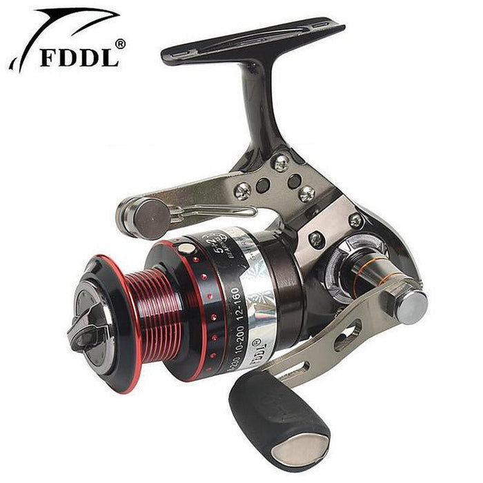 Fddl Brand Can Pull The Car Fishing Wheel 5+2 Axis Full Metal Fishing Reel-Spinning Reels-DAWO Trading Co., Ltd. Store-3000 Series-Bargain Bait Box