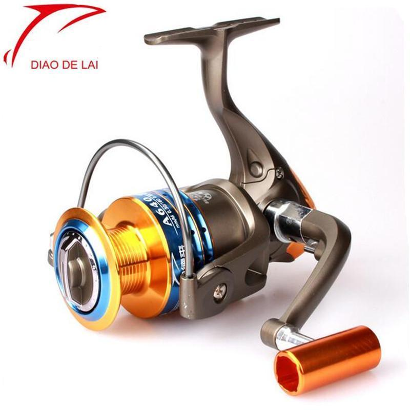 Fddl Brand Metal Line Cup Reel Fishing For Rods 12 + 1 Bb Without Clearance-Spinning Reels-DAWO Trading Co., Ltd. Store-1000 Series-Bargain Bait Box