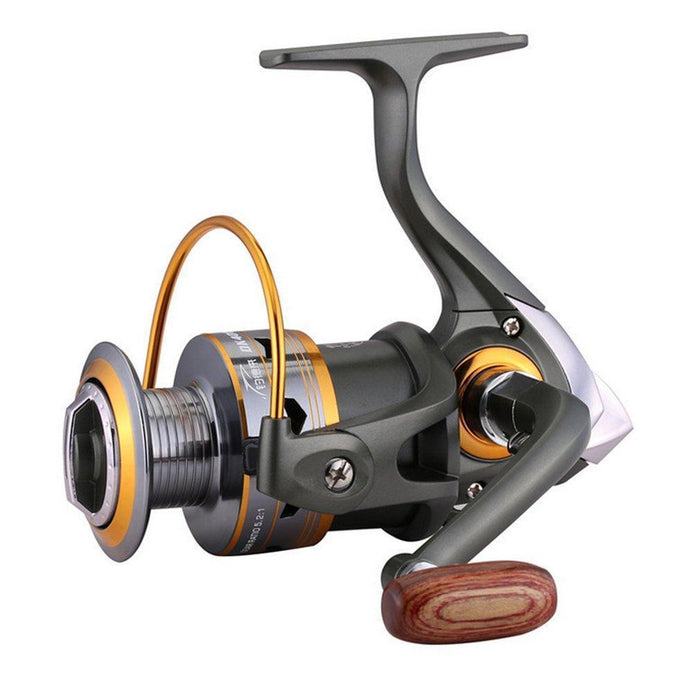 Fddl Dk 1000-7000 Fishing Reel 5.2 : 1 Metal Spool Spinning Fishing Reels-Spinning Reels-Lepan outdoor boutiques Store-1000 Series-Bargain Bait Box