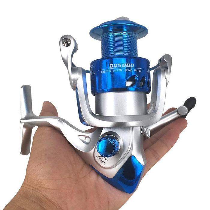 Fddl Dq Series 2000-6000 Spinning Reel 5.2:1 Fishing Reel For Carp Fishing Sea-Spinning Reels-HUDA Sky Outdoor Equipment Store-2000 Series-Bargain Bait Box