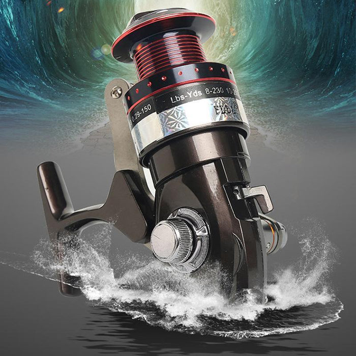 Fddl Fishing Reels 5+2 Bb Ball Bearing 5.2:1 Gear Ratio Aluminum Gapless Fishing-Spinning Reels-Lepan outdoor boutiques Store-3000 Series-Bargain Bait Box