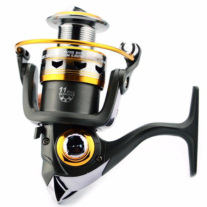 Fddl High Quality 11Bb Spining Fishing Reels 11 Bb Carp Fishing Reels-Spinning Reels-Outdoor Sports & fishing gear-1000 Series-Bargain Bait Box