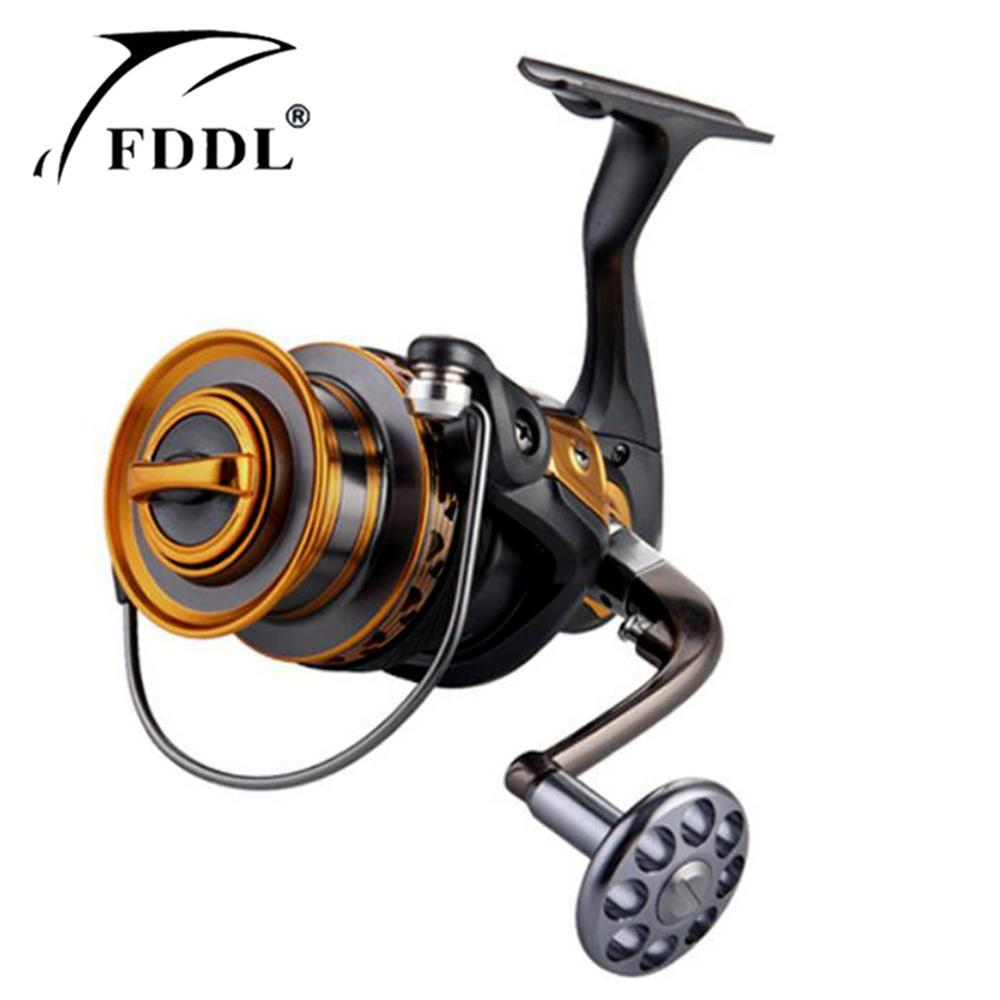 Fddl Metal Fishing Reel 14Bb 4000 - 7000 Series Spinning Reel Fishing Reels-Spinning Reels-HUDA Outdoor Equipment Store-4000 Series-Bargain Bait Box