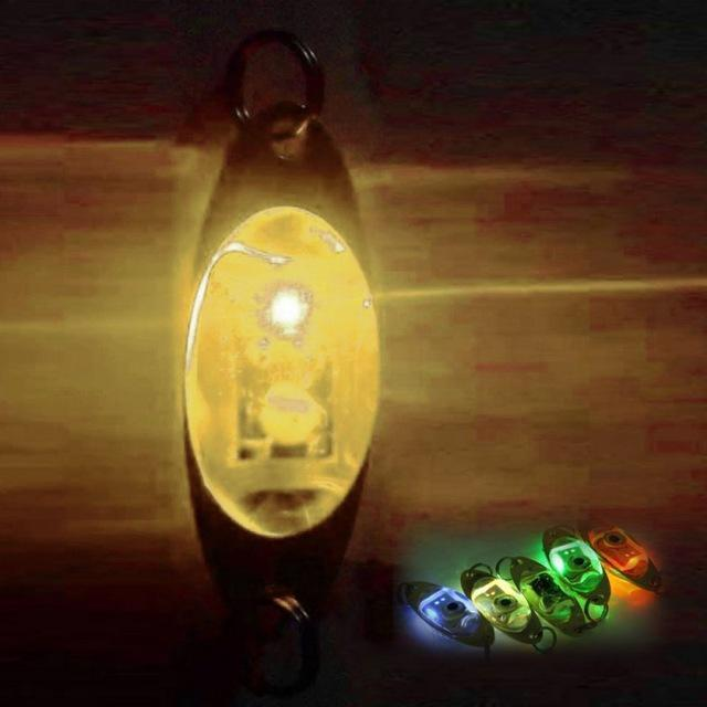 Fish Flash Lamp 6 Cm/2.4 Inch Led Deep Drop Underwater Eye Shape Fishing Lure-A willow Store-Multi-Bargain Bait Box