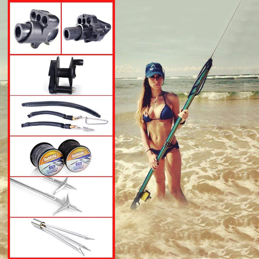 Fish King Hot Spearfishing Accessories Speargun Too-Fishing Tackle-White-Bargain Bait Box