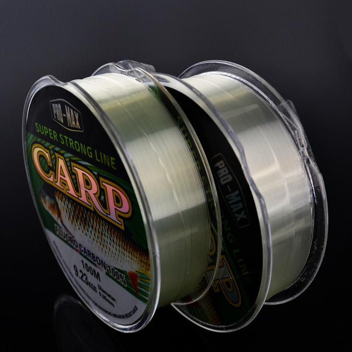 Fish King Super Hard Strong Gray 100M Fluoro Carbon Fishing Line Peche Carp-FISH KING Official Store-Carp 100m-Bargain Bait Box