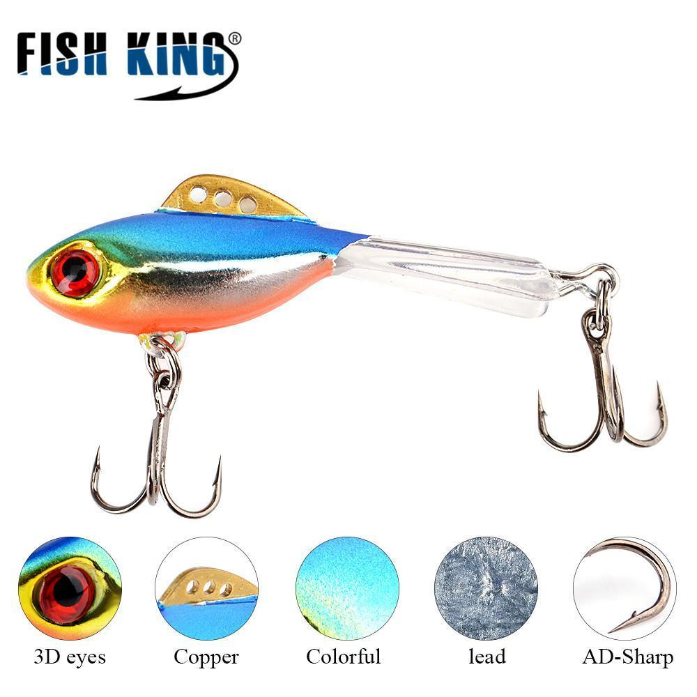 Fish King Winter Ice Fishing Lure 1Pc 38Mm-65Mm Balancer Hard Bait Lure For-FISH KING First franchised Store-see photo-38mm-4g-1pcs-Bargain Bait Box