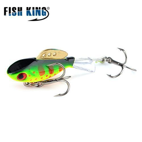 Fish King Winter Ice Fishing Lure 1Pc 38Mm-65Mm Balancer Hard Bait Lure For-FISH KING First franchised Store-see photo2-38mm-4g-1pcs-Bargain Bait Box