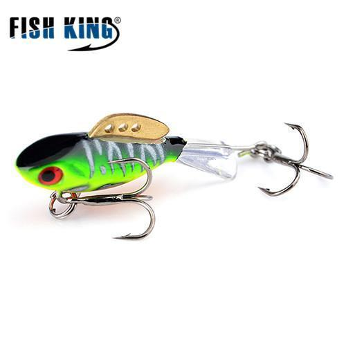 Fish King Winter Ice Fishing Lure 1Pc 38Mm-65Mm Balancer Hard Bait Lure For-FISH KING First franchised Store-see photo4-38mm-4g-1pcs-Bargain Bait Box
