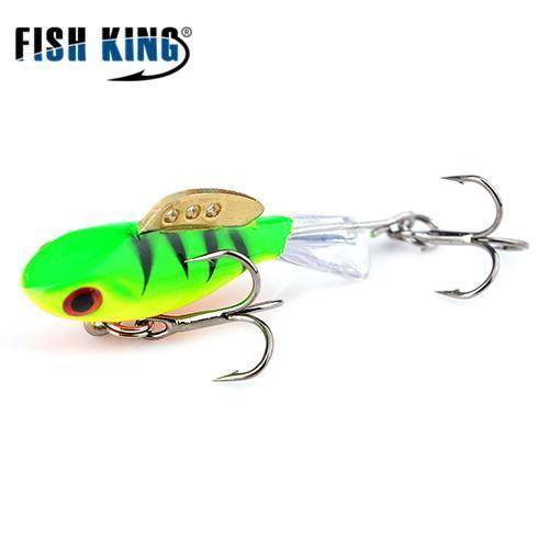 Fish King Winter Ice Fishing Lure 1Pc 38Mm-65Mm Balancer Hard Bait Lure For-FISH KING First franchised Store-see photo5-38mm-4g-1pcs-Bargain Bait Box