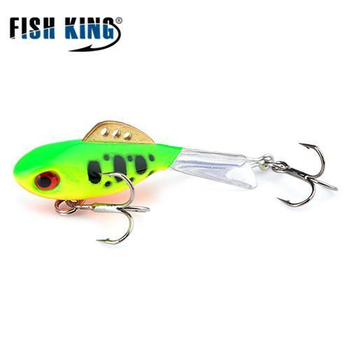 Fish King Winter Ice Fishing Lure 1Pc 38Mm-65Mm Balancer Hard Bait Lure For-FISH KING First franchised Store-see photo6-38mm-4g-1pcs-Bargain Bait Box