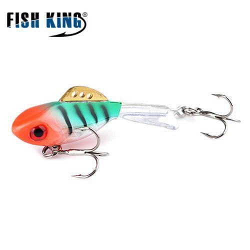 Fish King Winter Ice Fishing Lure 1Pc 38Mm-65Mm Balancer Hard Bait Lure For-FISH KING First franchised Store-see photo8-38mm-4g-1pcs-Bargain Bait Box