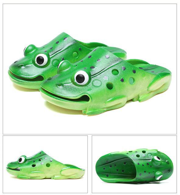 Fish Slippers Men Summer Flip Flops Personality Funny Beach Sandals-Catching Store-2-4-Bargain Bait Box