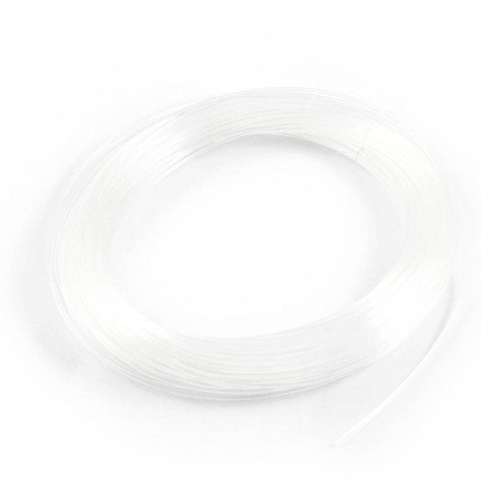 Fisherman Monofilament Fluorocarbon Fishing Leader Line 1.2Mm Dimeter White-Life Going Keep Riding Store-Bargain Bait Box