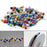Fishing Accessories 200Pcs Multi-Color Fishing Pin For Fasten Fishing Line-Movement & Outdoor Store-Bargain Bait Box