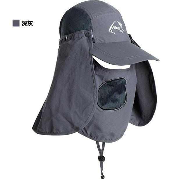Fishing Cap Women Hats Casquette Sun Hat Visor Camping Riding Cap Bucket Hat-Hats-Bargain Bait Box-Dark Grey-M-Bargain Bait Box