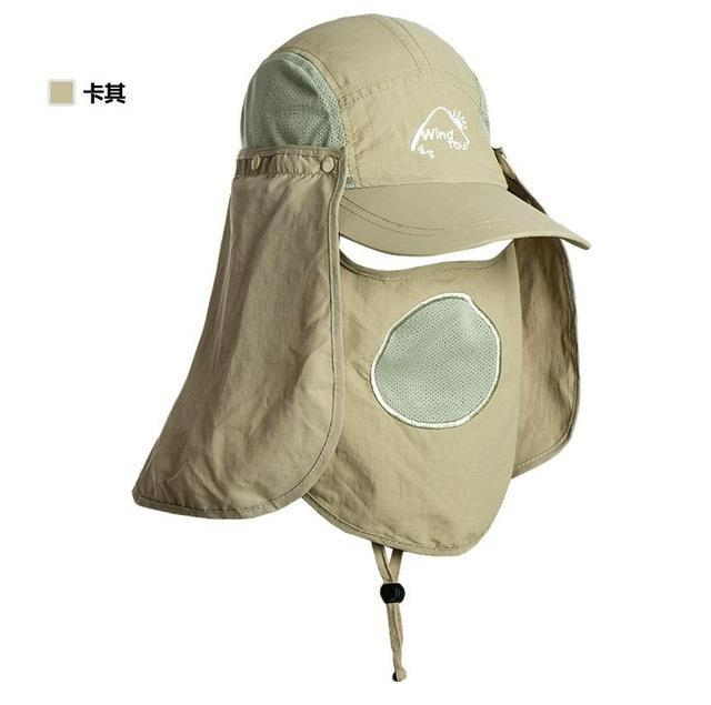 Fishing Cap Women Hats Casquette Sun Hat Visor Camping Riding Cap Bucket Hat-Hats-Bargain Bait Box-Khaki-M-Bargain Bait Box