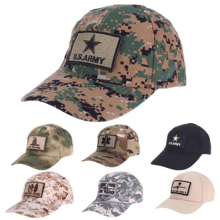 Fishing Caps Special Forces Operator Tactical Baseball Hat Cap With 2-Hats-Bargain Bait Box-as show-M-Bargain Bait Box
