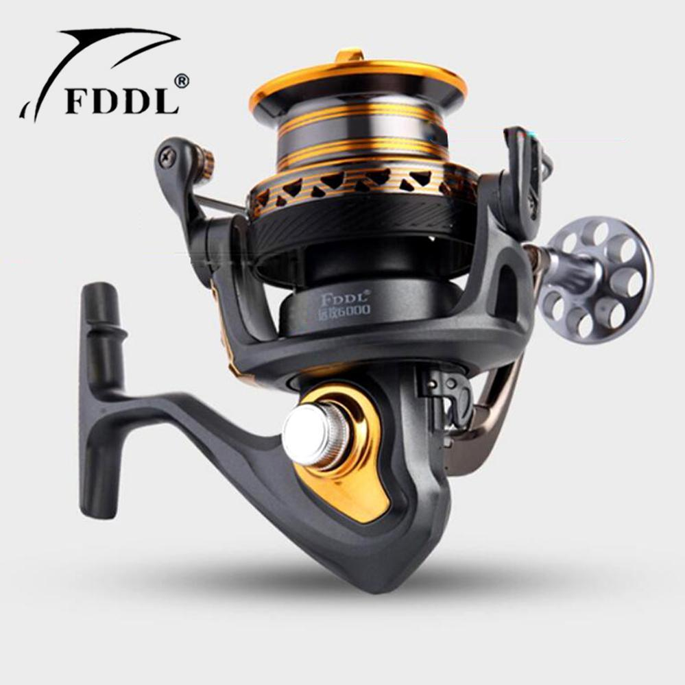 Fishing Carretilha Carp Reel 13+1Bb Spinning Reel Large Long Shot Wheel-Spinning Reels-HUDA Outdoor Equipment Store-4000 Series-Bargain Bait Box