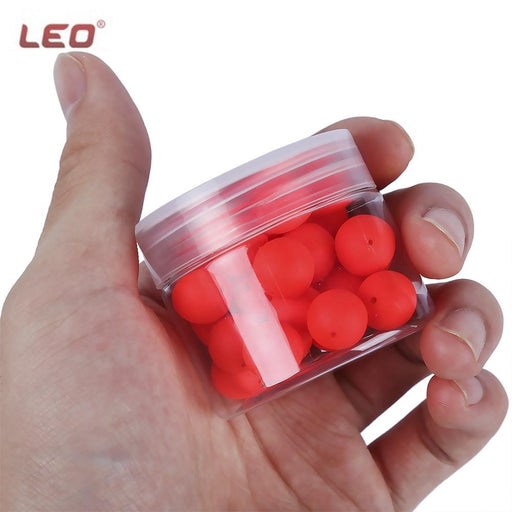 Fishing Float 30Pcs Bean Shape Eps Foam Float Ball-Fishing Floats-Bargain Bait Box-Red-Bargain Bait Box