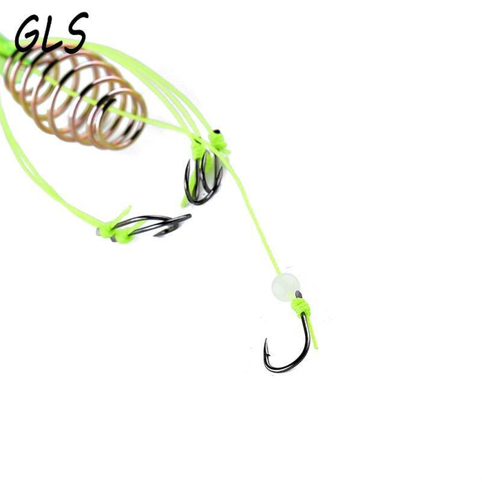 Fishing Hook For Fishing 4 Pc Fishing Feeder Bomb Proof Hanging Explosion Hook-GLS Fishing gear Store-10-Bargain Bait Box