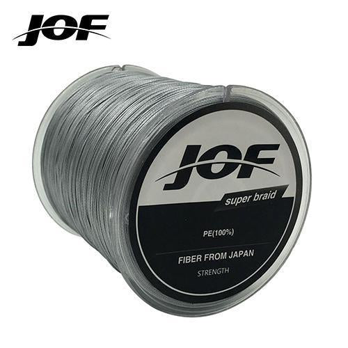 Fishing Line 8 Strands Pe Braided 500 Meters Multifilament Fishing Line-HD Outdoor Equipment Store-Grey-1.0-Bargain Bait Box