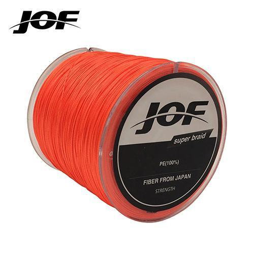 Fishing Line 8 Strands Pe Braided 500 Meters Multifilament Fishing Line-HD Outdoor Equipment Store-Orange-1.0-Bargain Bait Box