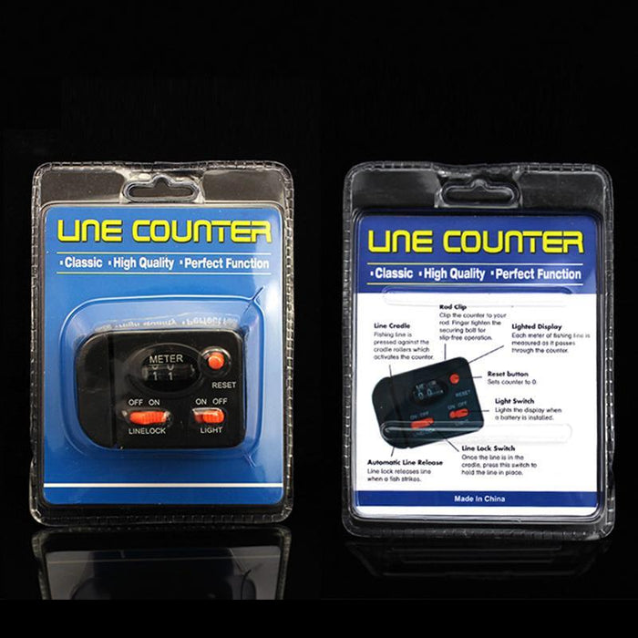 Fishing Line Counter Professional 99.9M Digital Display Fishing Line Depth-weihefishing Official Store-Bargain Bait Box