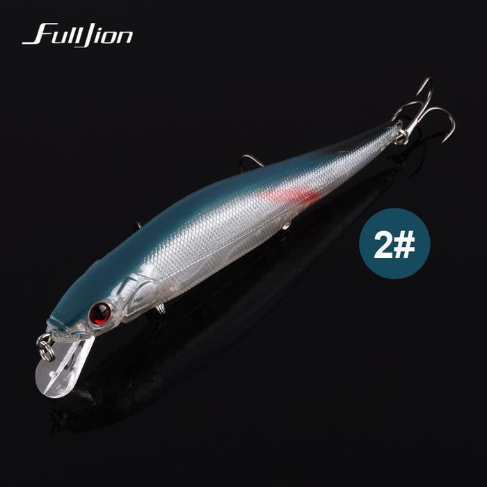 Fishing Lures Hard Floating Minnow Artificial Wobblers Crankbait Winter-Ali Fishing Store-01-Bargain Bait Box