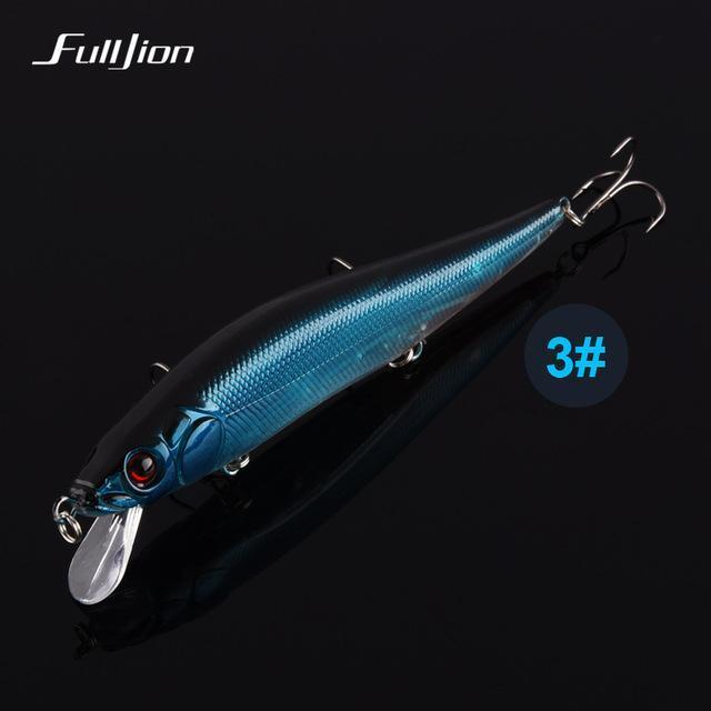 Fishing Lures Hard Floating Minnow Artificial Wobblers Crankbait Winter-Ali Fishing Store-03-Bargain Bait Box