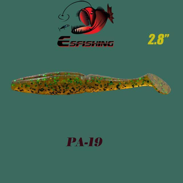 "Fishing Lures Soft Lure 6Pcs Esfishing Easy Shiner 2.8""Pesca Leurre Souple-Esfishing Lure Store-PA19-Bargain Bait Box"