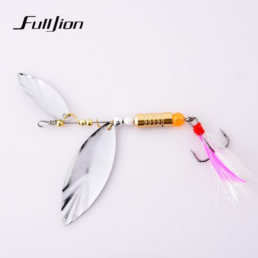Fishing Lures Spinner Baits Metal Spoons Artificial Lures Bass Hard Baits Fish-Ali Fishing Store-1pcs-Bargain Bait Box