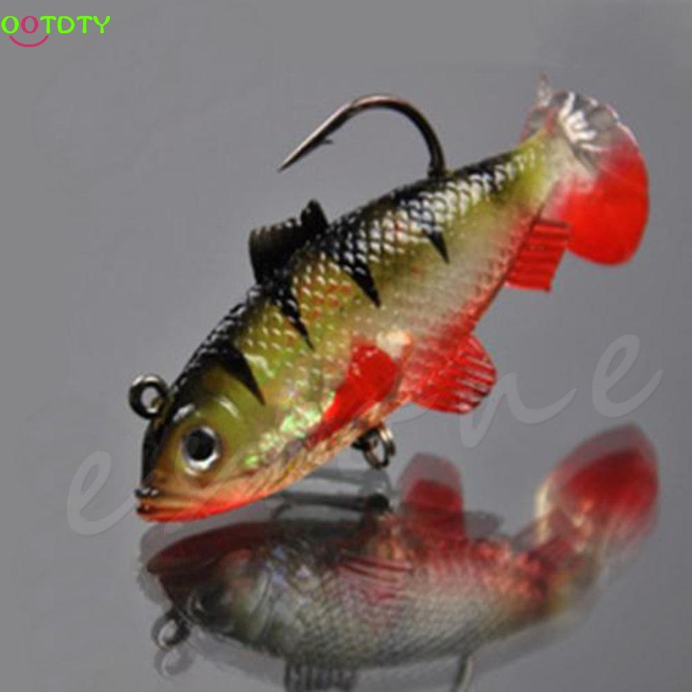 Fishing Paillette Fishing Hook Baits Tackle Hook-Rigged Plastic Swimbaits-Bargain Bait Box-Bargain Bait Box