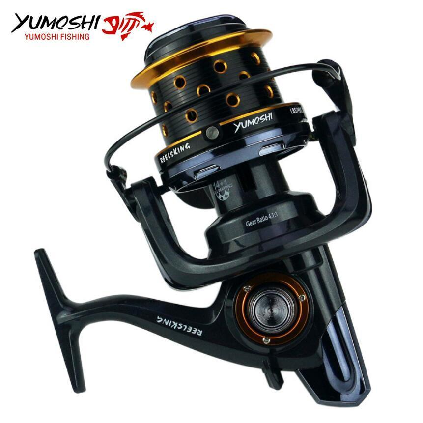 Fishing Pesca Reel Big Size Metal Spool Spinning Reels 15Bb 8000 9000 1000-Spinning Reels-HD Outdoor Equipment Store-8000 Series-Bargain Bait Box