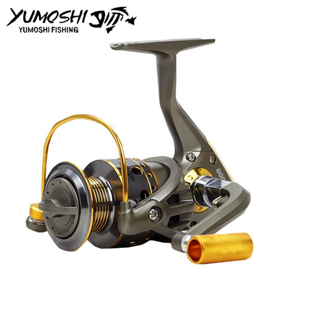 Fishing Pesca Reel Wheels Fish Spinning Reel 10Bb High G-Ratio 5.5:1 Moulinet-Spinning Reels-HUDA Outdoor Equipment Store-1000 Series-Bargain Bait Box