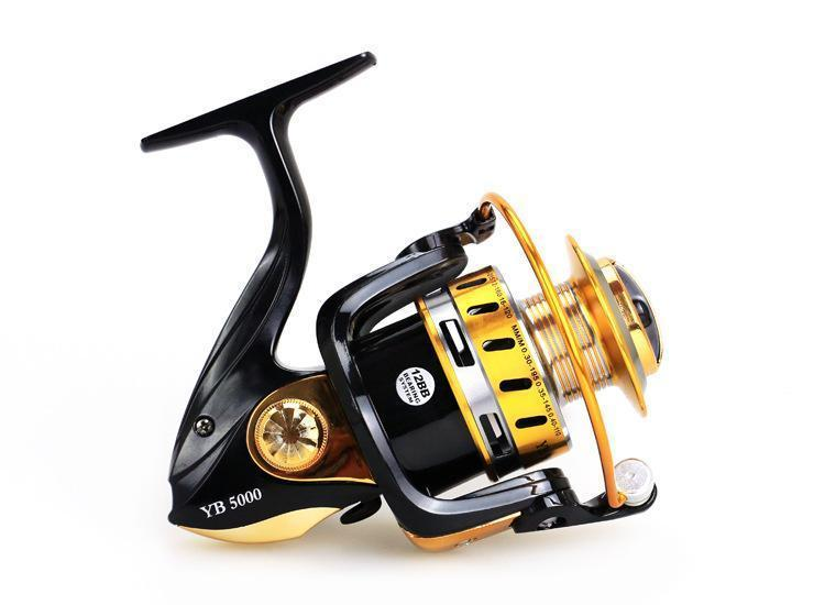 Fishing Reel 11+1Bb Aluminium Alloy Spool High Strength Engineering Nylon-Spinning Reels-Sports fishing products-2000 Series-Bargain Bait Box