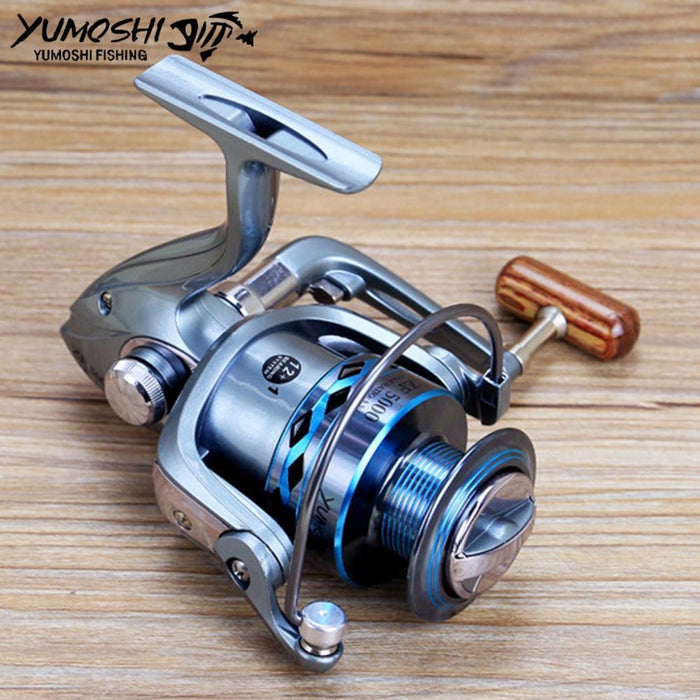 Fishing Reel Pesca Hot Wheels Spinning Fish Reel High Gear Ratio 5.5:1 2000-7000-Spinning Reels-HD Outdoor Equipment Store-2000 Series-Bargain Bait Box