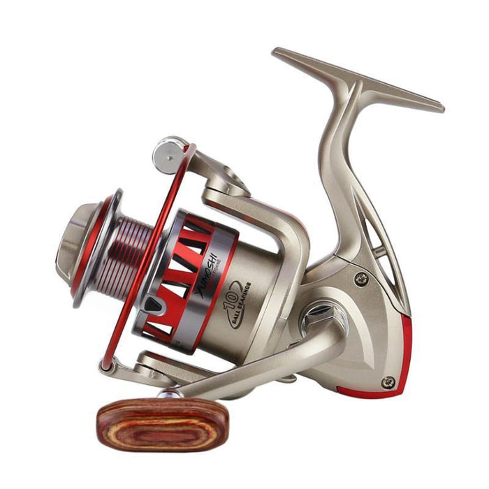 Fishing Reels 10 Ball Bearing Spinning Wheel All Metal Rocker Arm Left Hand-Spinning Reels-Cycling/Fishing Store-1000 Series-Bargain Bait Box